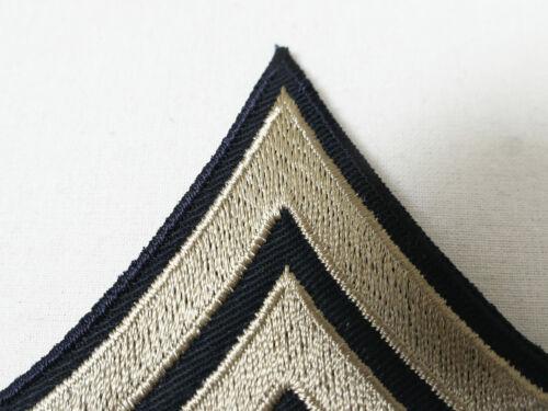 US ARMY WW2 Ranks Paar Dienstgradabzeichen Staff Sergeant Rang Abzeichen Uniform