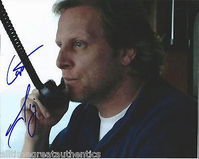 Photographs Just Deadliest Catch Captain Sig Hansen Hand Signed Authentic 8x10 Photo C W/coa Autographs-original