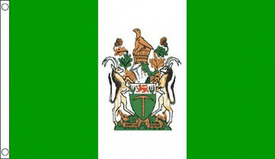 3' x 2' RHODESIA FLAG Rhodesian Old Zimbabwe Zimbabwean Africa African