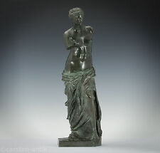 Grand Tour Venus von Milo Bronze nach antikem Vorbild, SOCIETE DES BRONZES PARIS