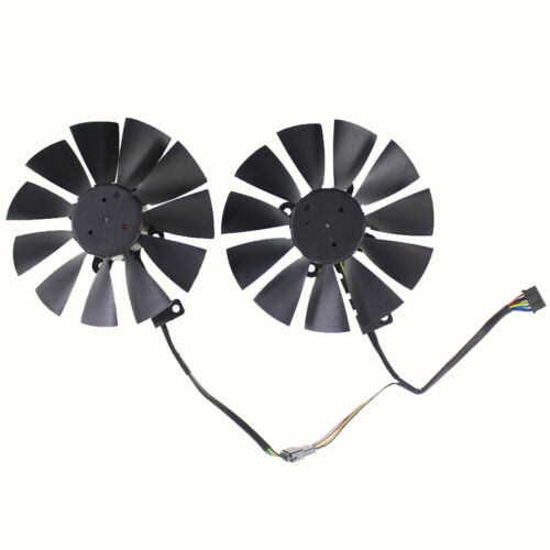 95mm Original ASUS STRIX GTX970 R9 380 Dual Fan 5Pin FD10015H12S 12V 0.55A