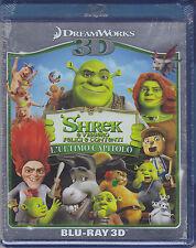 Blu-ray 3D + 2D DreamWorks SHREK E VISSERO FELICI E CONTENTI ♥ L'ULTIMO CAPITOLO