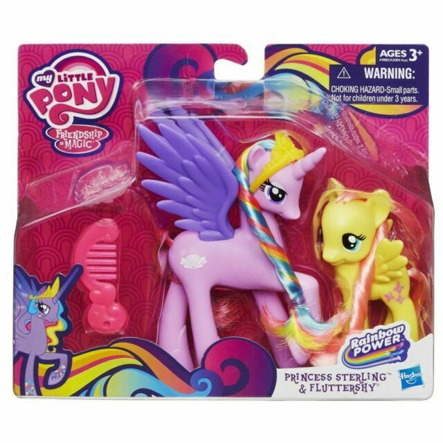 My Little Pony Princess Sterling And Fluttershy Figures For Sale Online Ebay