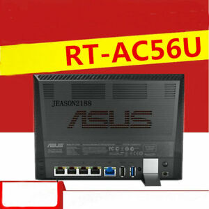 Details about ASUS RT-AC56U dual-band AC1200 high-speed WiFi wall gigabit  wireless router