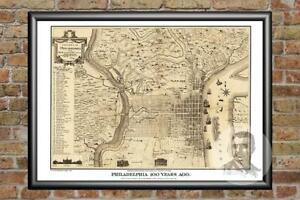 Old-Map-of-Philadelphia-PA-from-1875-Vintage-Pennsylvania-Art-Historic-Decor