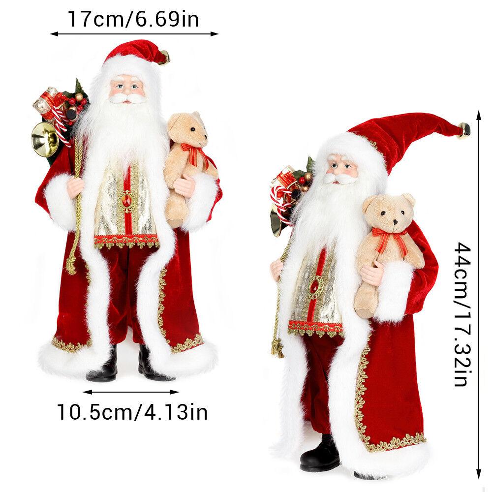 Babbo Natale in Piedi Gisela Graham