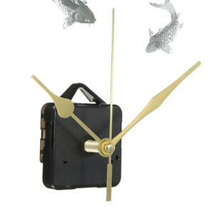 Mouvement-Mecanisme-D-039-horloge-Quartz-3-Aiguilles-Dore-Murale-Pendule-Silencieux