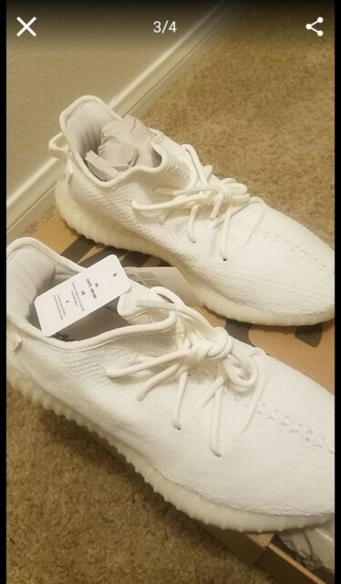 premium selection e2518 45906 adidas Yeezy Boost 350 V2 Triple White Cp9366 Size 6 100 Authentic