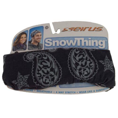 SEIRUS MEN/'S WOMEN/'S SNOWTHING HAT NECK GAITER SNOWBOARDING SKI UPF 50 HEADGEAR