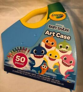 Crayola Baby Shark Coloring Set, Gift for Kids, Baby Shark ...