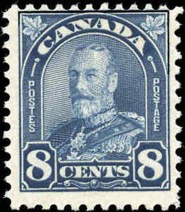 1930-Mint-NH-Canada-F-Scott-171-8c-King-George-V-Arch-Leaf-Stamp
