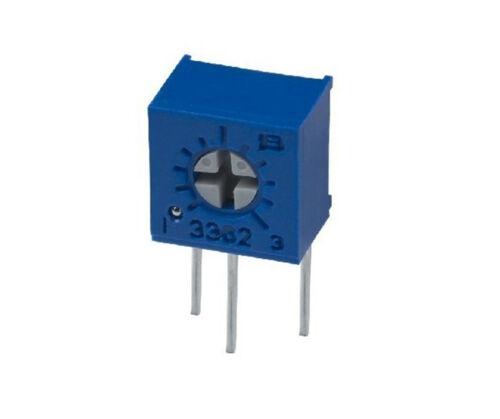 50pcs 3362X High Precision Trimmer Potentiometer Variable Resistor 502 5K Ohm