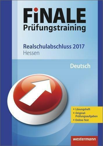 1 von 1 - Finale - Prüfungstraining Realschulabschluss Hessen von Vito Tagliente (2016,...