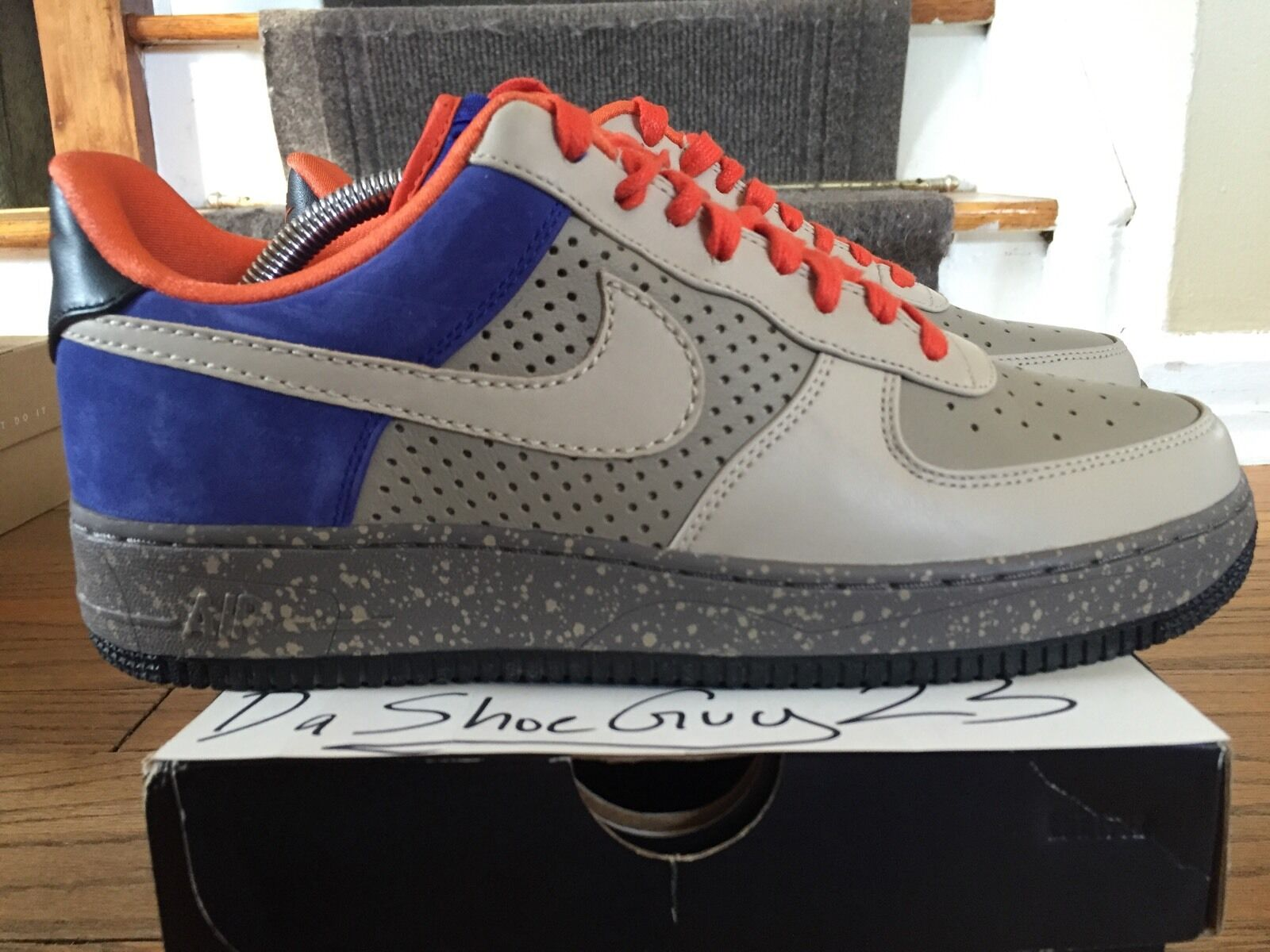 Cheap and beautiful fashion PREOWNED NIKE AIR FORCE 1 LOW SUPREME Price reduction