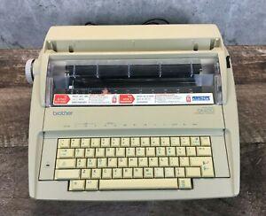Brother Correctronic GX-6750 Electronic Typewriter w/Protective Case *Untested*