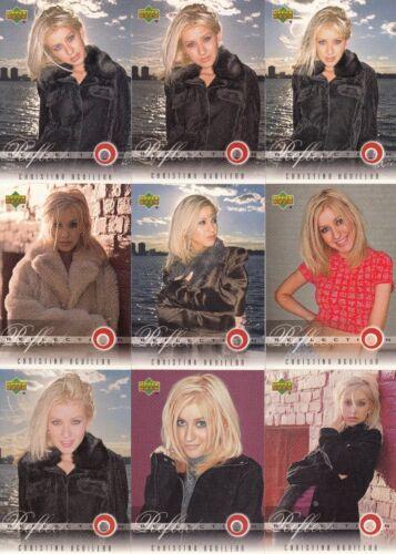 CHRISTINA AGUILERA 2000 UPPER DECK COMPLETE BASE CARD SET OF 45 MU