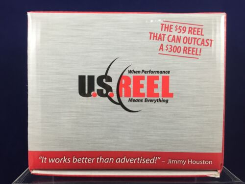 Reel 600 Invader Right Hand Super Caster by U.S Baitcaster NEW