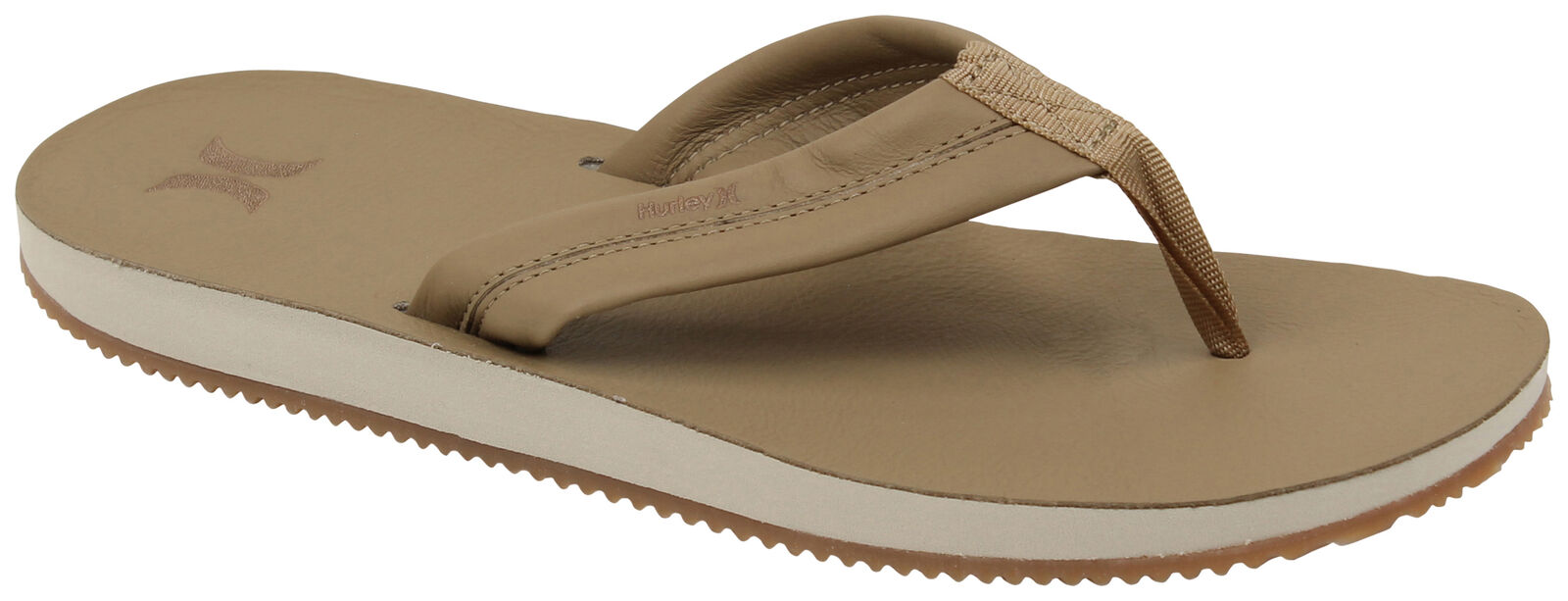 Hurley Lunar Leather Sandal - Canteen - New