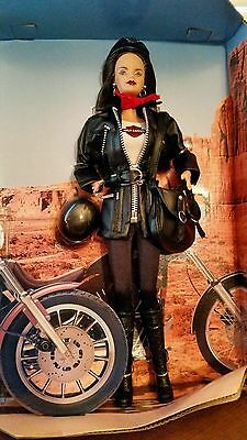 Harley Davidson Barbie #3 Doll in Limited Edition Collection Mattel 1998