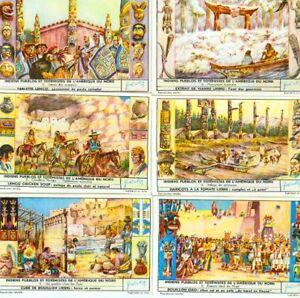 LIEBIG : S_1642 - Indiens peubles et totémismes de
