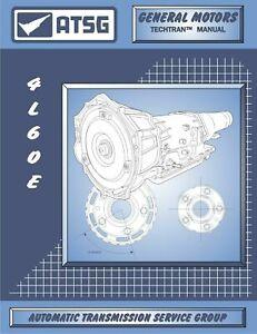 4l60e transmission rebuild & repair manual book atsg diagrams gm gmc  chevrolet   ebay  ebay