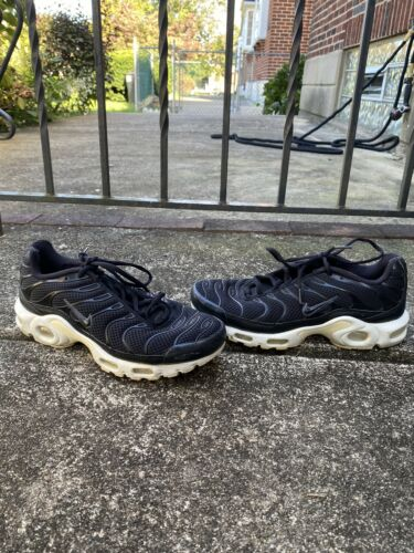 Nike Air Max Plus Breeze TN Running Shoes Black Wh