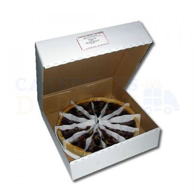 100 x quiche tarte Ondulé Box 12 x12 x2   GRATUIT LIVRAISON LE JOUR SUIVANT commande B4 1PM