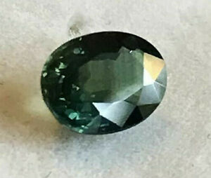 Sapphire-Green-Blue-Natural-Genuine-Earth-Mined-Oval-Cut-6-7-x-5mm-0-9ct