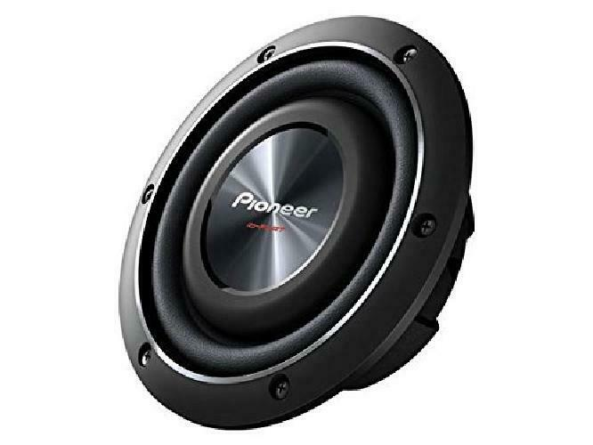 Pioneer Ts-Sw2002D2 8-Inch Shallow-Mount Subwoofer With