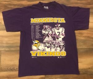 Minnesota Vikings Vintage  99 Sport Attack NFL Graphic T Shirt Mens ... b0986811e