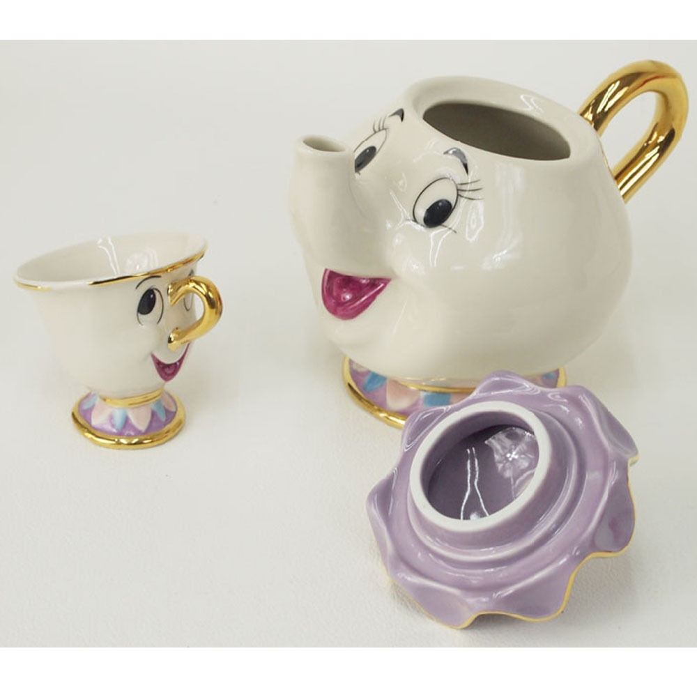 Cartoon Beauty Amp The Beast Teapots Mugs Mrs Potts Chip Tea