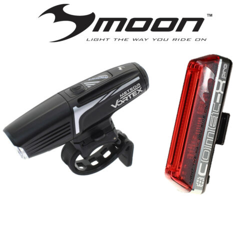 MOON VORTEX 600 FRONT /& COMET  X PRO REAR LIGHT SET FREE EXPRESS POSTAGE
