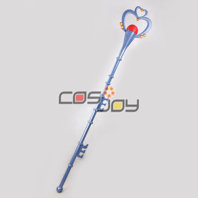 "Cosjoy 69"" Sailor Moon Pluto Meiou Setsuna Wand PVC Cosplay Prop -1177"