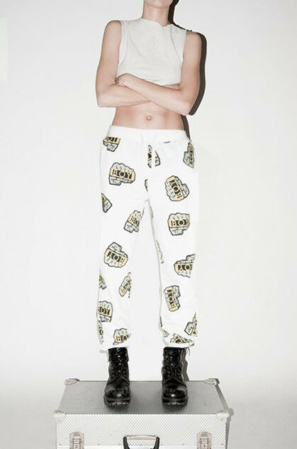 BOY London Unisex nocche Stampa Jogging Jogging Jogging Pantaloni (XS S M L) Designer Vintage Punk e0dd87