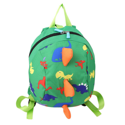 Cartoon Safety Harness Leash Strap Baby Kids Toddler Walking Backpack Bag TO