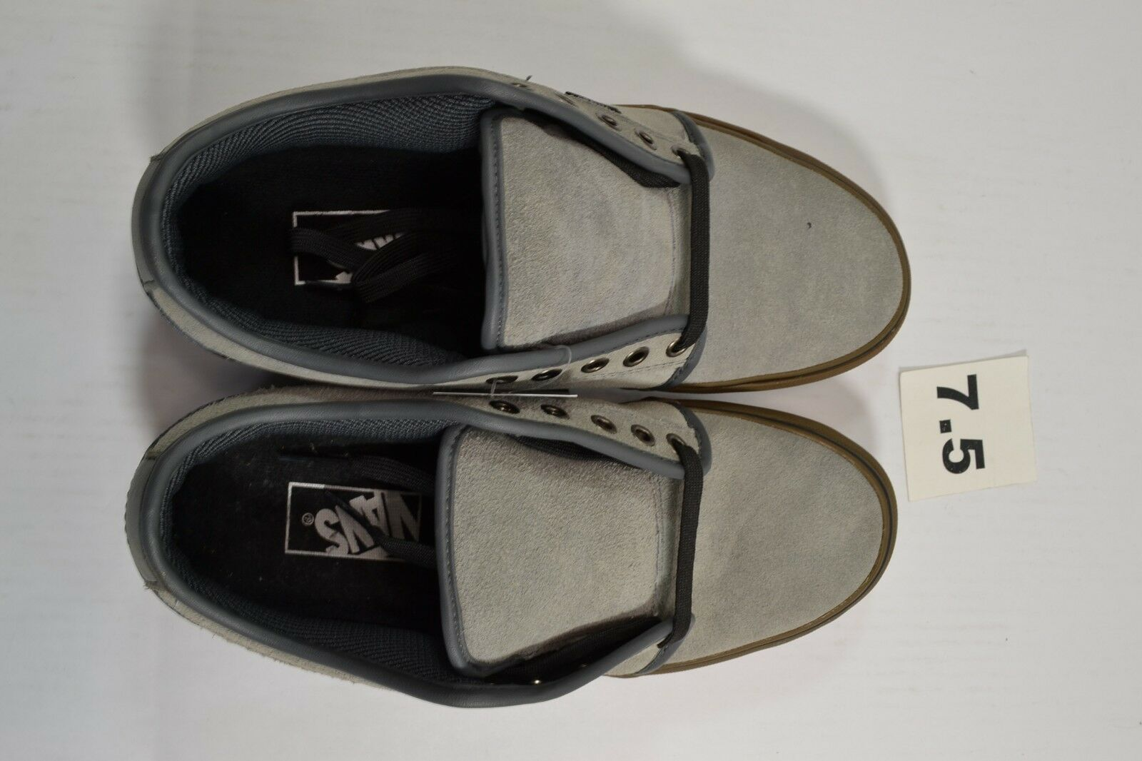 Vans CHUKKA LOW CHRIS (355) PFANNER Gris Gum Discounted (355) CHRIS Hombre Skate Zapatos b90148