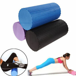 EVA-Foam-Roller-Yoga-Pilate-Roller-Gym-Exercise-Fitness-Massage-Floating-Point