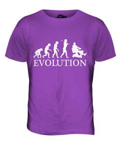 WELDER EVOLUTION MENS T-SHIRT TEE TOP GIFTWELDING EQUIPMENT