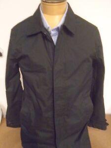 Jack-Spade-Cotton-Blend-Trench-Coat-Rain-Coat-NWT-Small-398-Black