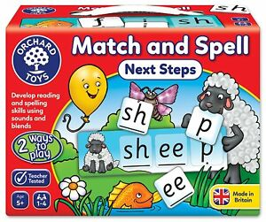 Orchard-Toys-Match-and-Spell-Next-Steps-Board-Game