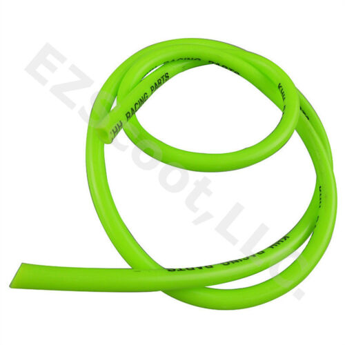 KHH RACING GAS FUEL LINE GREEN 99CM 2 CLAMP GY6 SCOOTER MOPED ATV QUAD TAOTAO