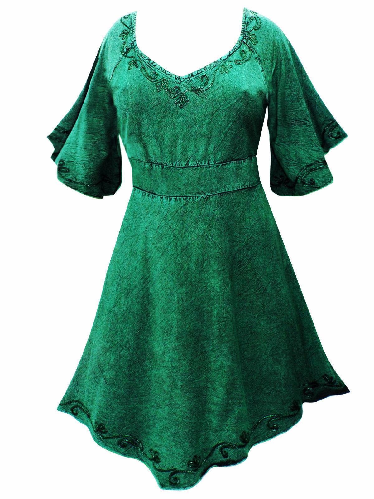 Mittelalterliches Prinzessin Top Oberteil Blause lang lang lang grün S M L 34 36 38 40 42 | Hochwertig  | Hohe Sicherheit  | Schön In Der Farbe  6c0bd8