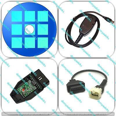 Adaptateur Connecteur pour moto KTM 6 Pin Plug à OBD 2 obd2 TUNE ECU TUNEECU
