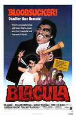 Blacula Poster 01 A3 Box Canvas Print