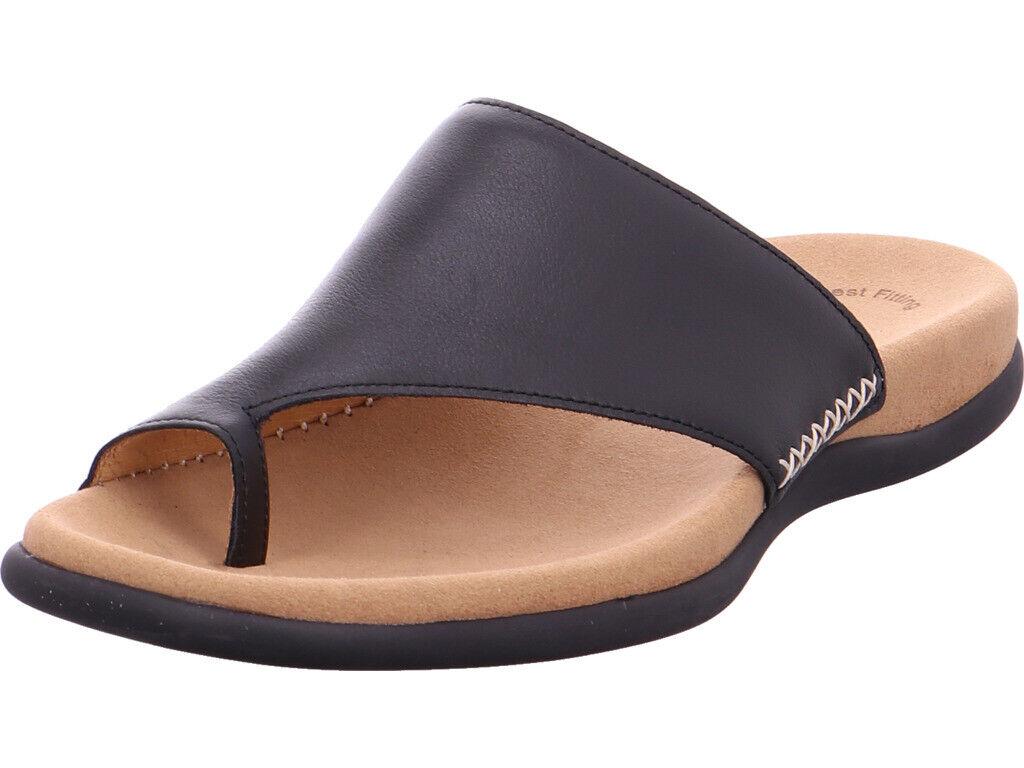 Gabor Donna NV NV NV Sandali Sandali Pantofole Nero 7a6ccc