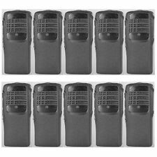 Lot 10 Black Replacement cover Cases Housing For Motorola HT750 Portable Radio