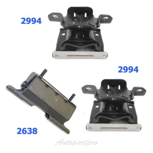 M1046 Motor /& Trans Mount For 99-2007 CHEVROLET SILVERADO 1500 4.3L 2994*2 2638