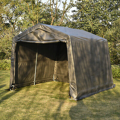 10x10x8ft Auto Shelter Portable Garage Shed Canopy Carport ...