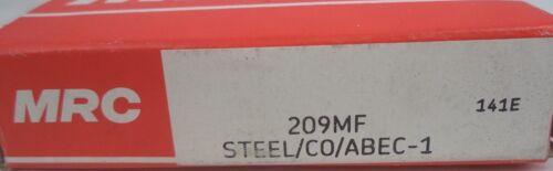 Radial Deep Groove Steel Ball Bearing SKF MRC Round Bore P//N 209MF