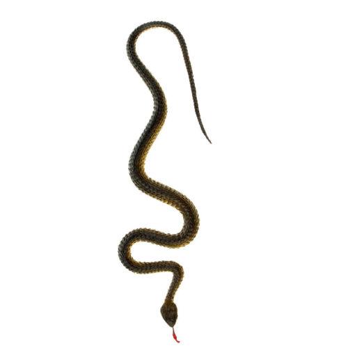 5x 43cm Faux Caoutchouc Serpent Jardin Accessoires De Jardinage Prétendre